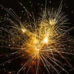 Pokazy fajerwerków na weselu